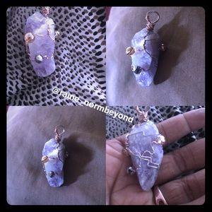 Jewelry - Amethyst Crystal Pendant (Unisex)